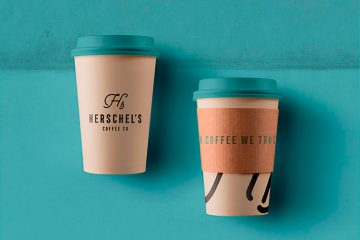 Identity Design for Herschel's Coffee Co