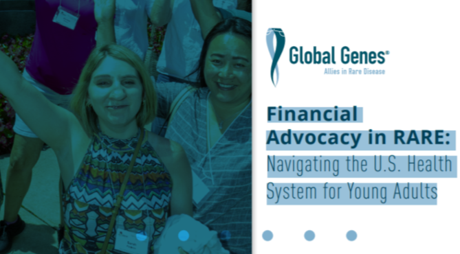 Financial Advocacy in RARE