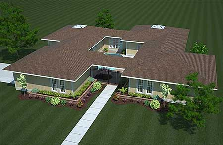 Creative Compound 11017g Architectural Designs House