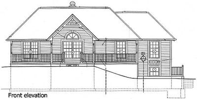 Sloping lot with drive under garage 11230g for Drive under garage house plans