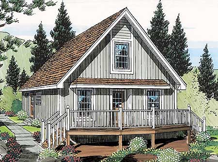 11354g 1st floor master suite loft narrow lot pdf for Vacation home plans with loft