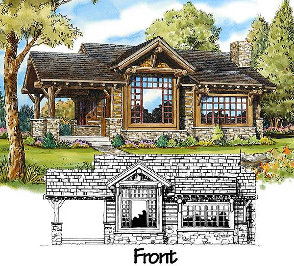 Architectural designs for Weekend cabin floor plans
