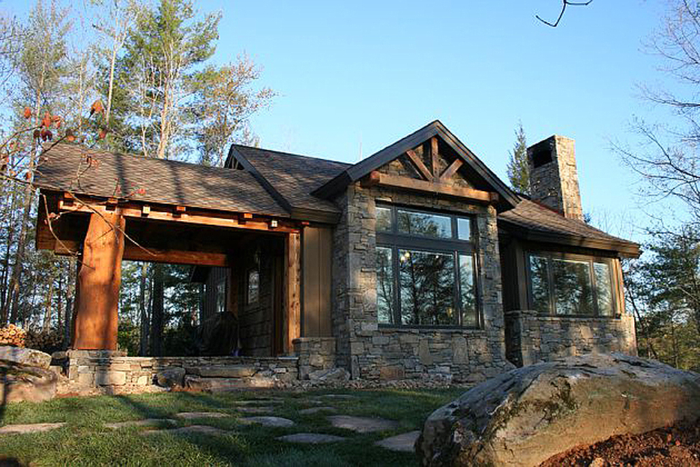 Weekend mountain escape 11529kn architectural designs for Small weekend cabin plans
