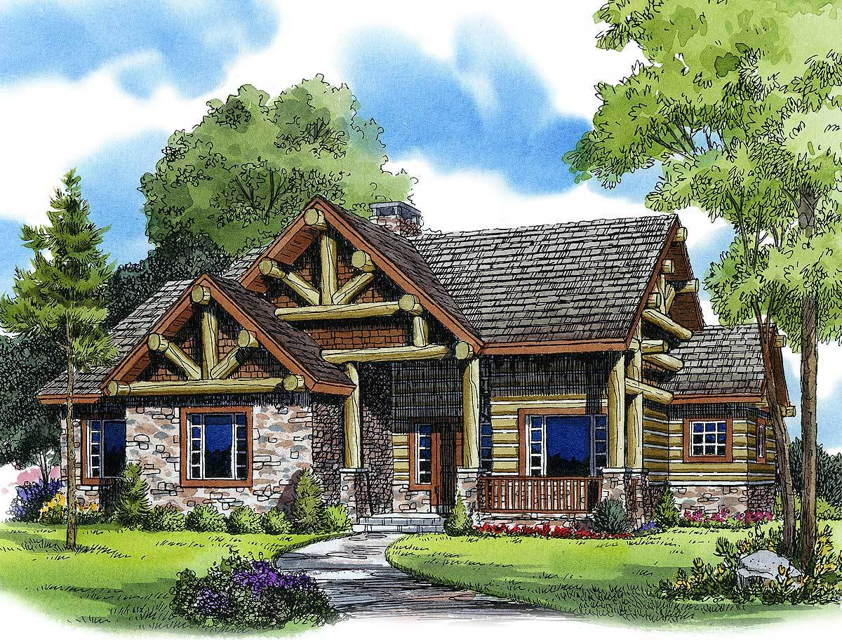 Vacation getaway 11542kn architectural designs house for Free vacation home plans