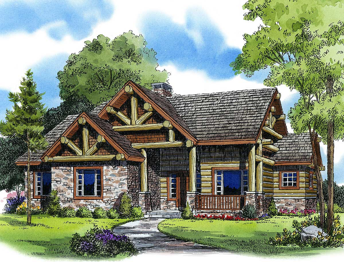 Vacation getaway 11542kn architectural designs house for Vacation home plans