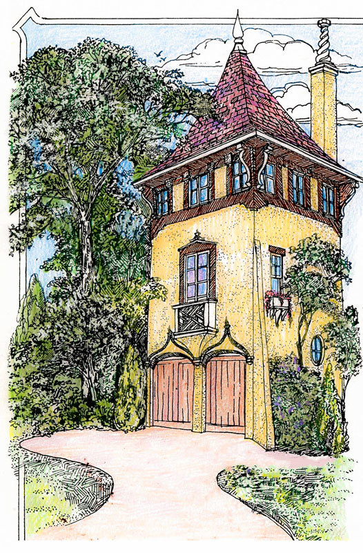 Romantic carriage house plan 11601gc architectural for Large carriage house plans