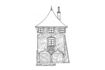 Romantic Carriage House Plan - 11601GC thumb - 02