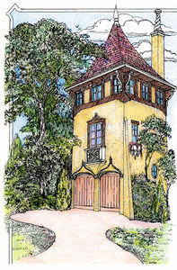 Romantic Carriage House Plan - 11601GC thumb - 01