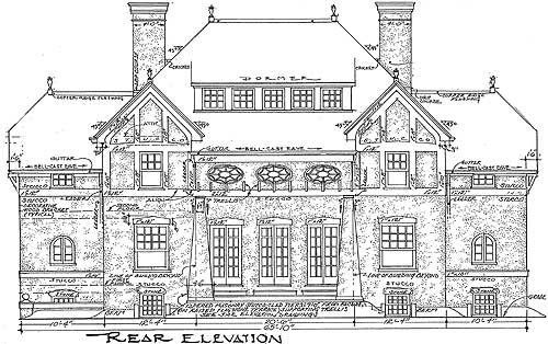Impressive english tudor 11603gc 2nd floor master for English tudor house plans