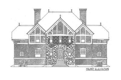 impressive english tudor - 11603gc | architectural designs - house