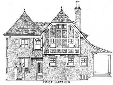 Turreted Tudor Cottage - 11605GC thumb - 04