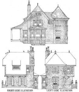 Turreted Tudor Cottage - 11605GC thumb - 05