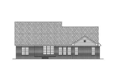 Split Bedroom House Plan - 11710HZ thumb - 04