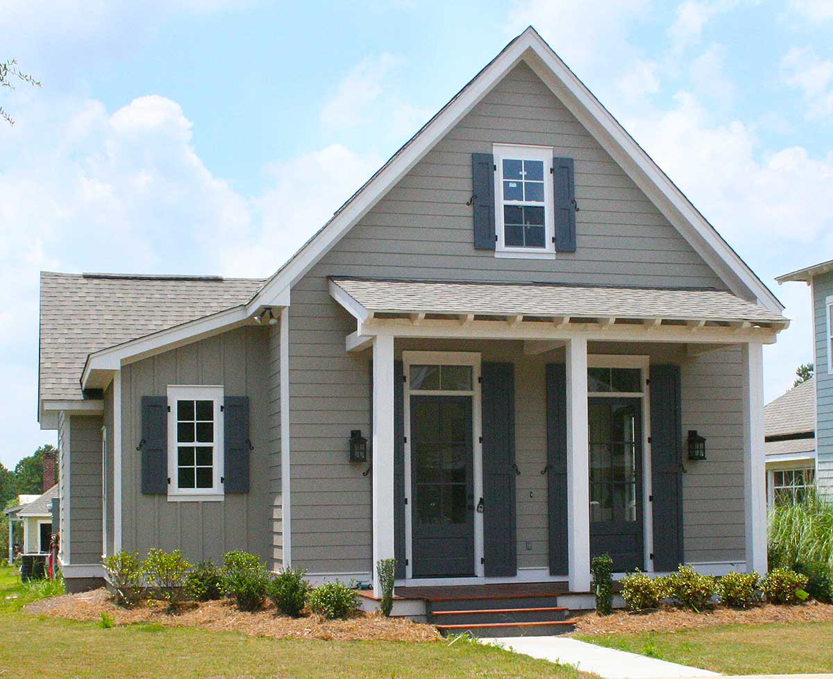 3 Bed Narrow Lot Cottage Home Plan 11762hz 1st Floor