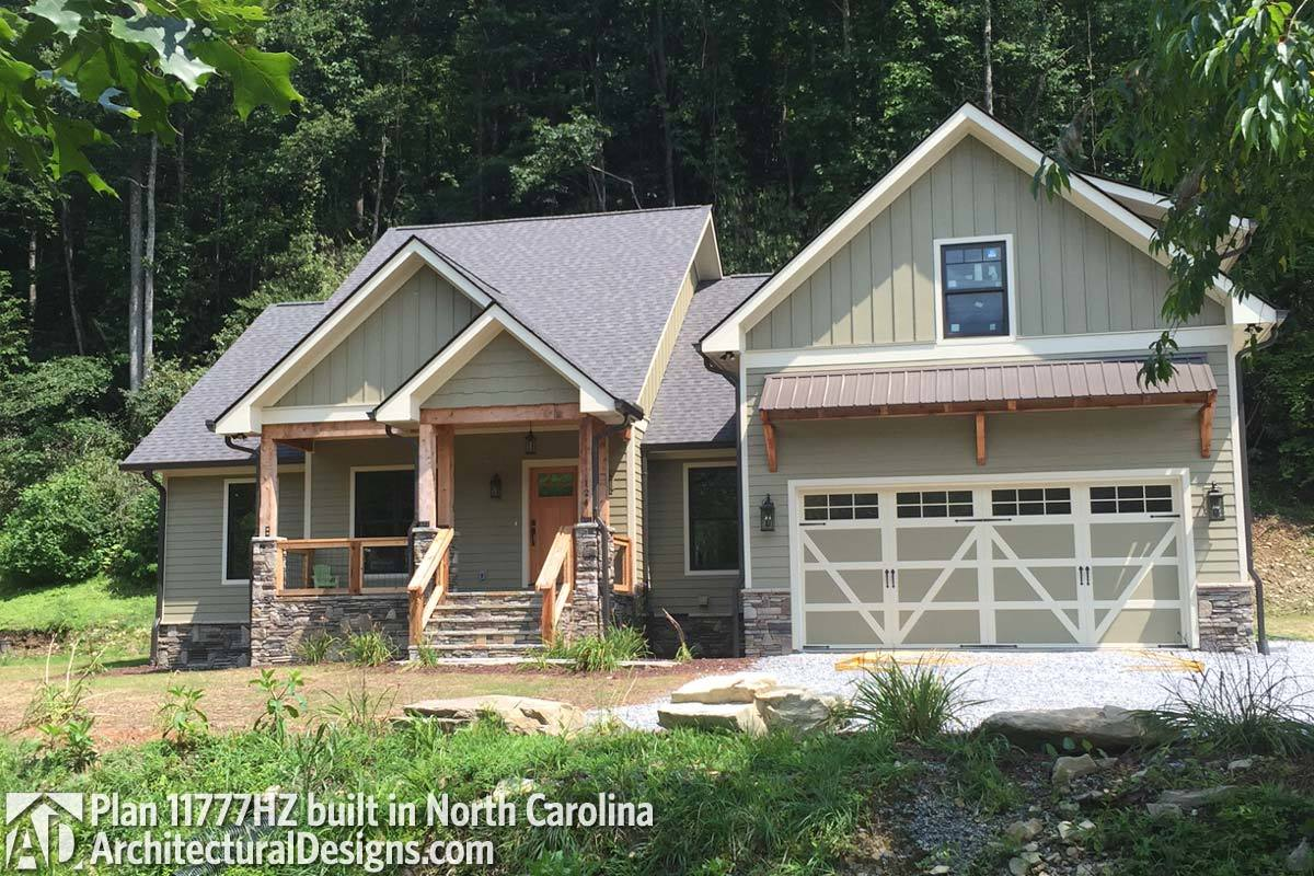 House Plan 11777hz Comes To Life In North Carolina