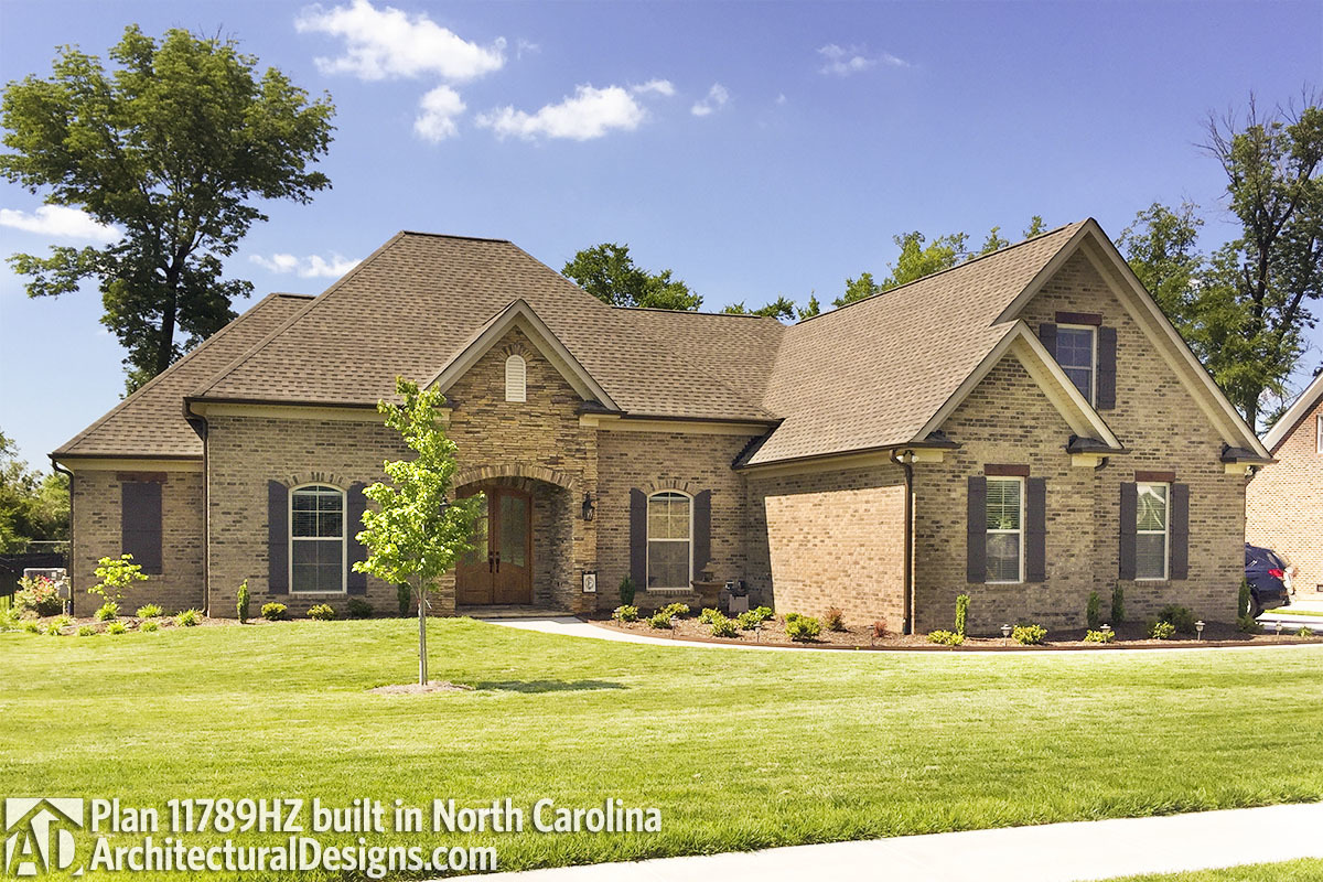house plan 11789hz comes to life in north carolina photo 001 - Architectural Designs Com