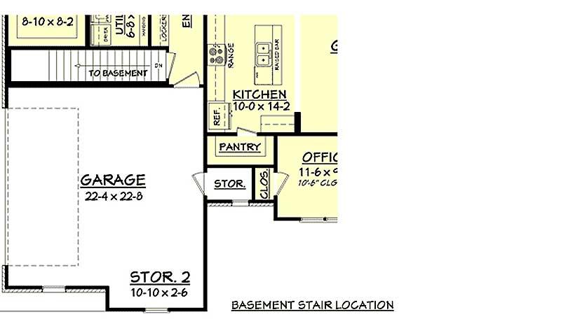 Split Bedroom House Plan With Open Floor Plan 11797hz