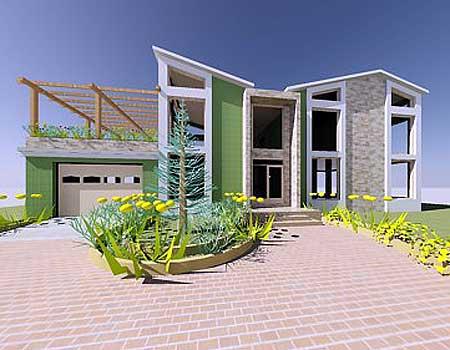 Stunning contemporary beach home plan 1200aj 2nd floor for Beach house design pdf