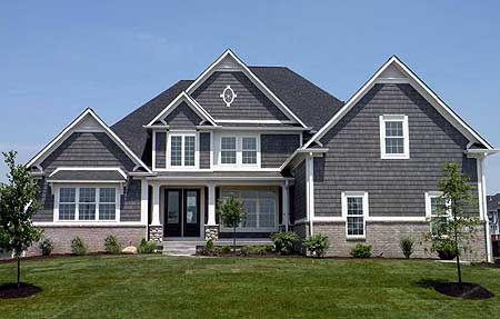Classic shingle style home 12053jl architectural for Shingle style house plans