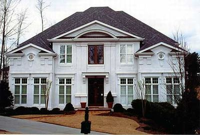 Majestic Columns and Overlapping Rooflines - 12093JL thumb - 03