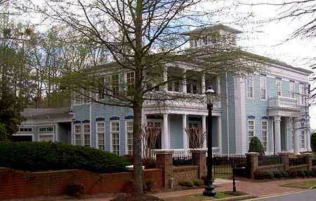 Entertaining neoclassical estate 12189jl architectural for Large home plans for entertaining