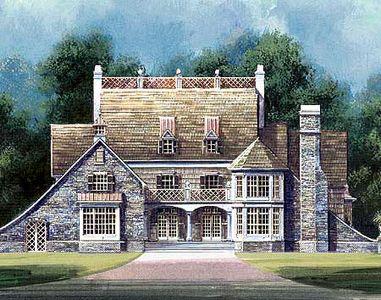 Timeless StuccoStone Exterior JL Architectural Designs - Stucco home plans