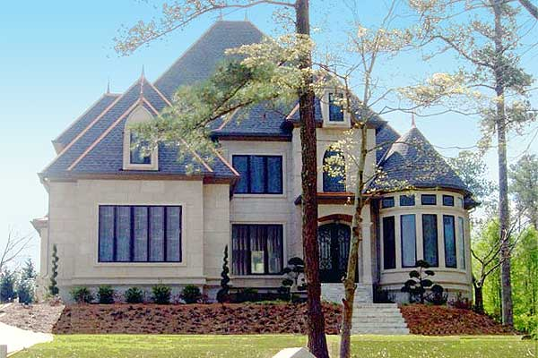 Majestic storybook castle 12217jl 1st floor master for Luxury french country house plans