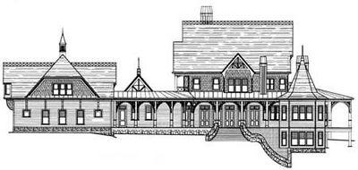 Victorian-Inspired Estate Home Plan - 12222JL thumb - 08