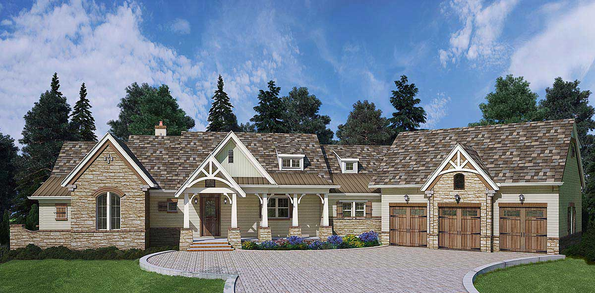 Mountain Ranch With Expansion And Options 12279jl