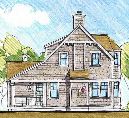house blue prints and quaint cottage 12415ne architectural designs 12415