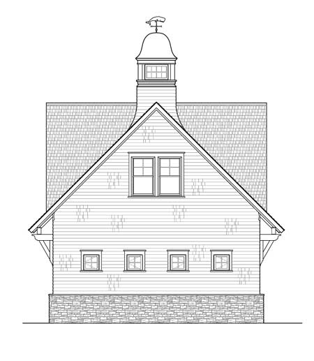 Architectural Designs Carriage House Plan 14631rk Gives: Carriage House With Roomy Lounge - 12444NE