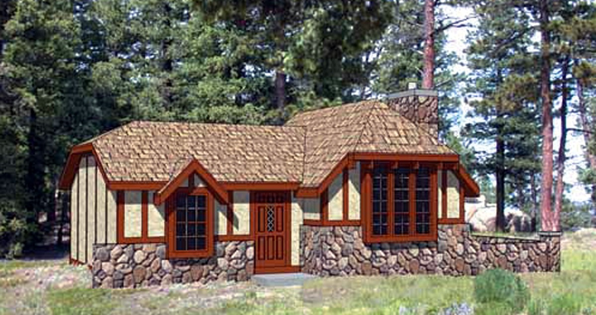 Charming storybook cottage 12721ma architectural for Storybook cottage plans