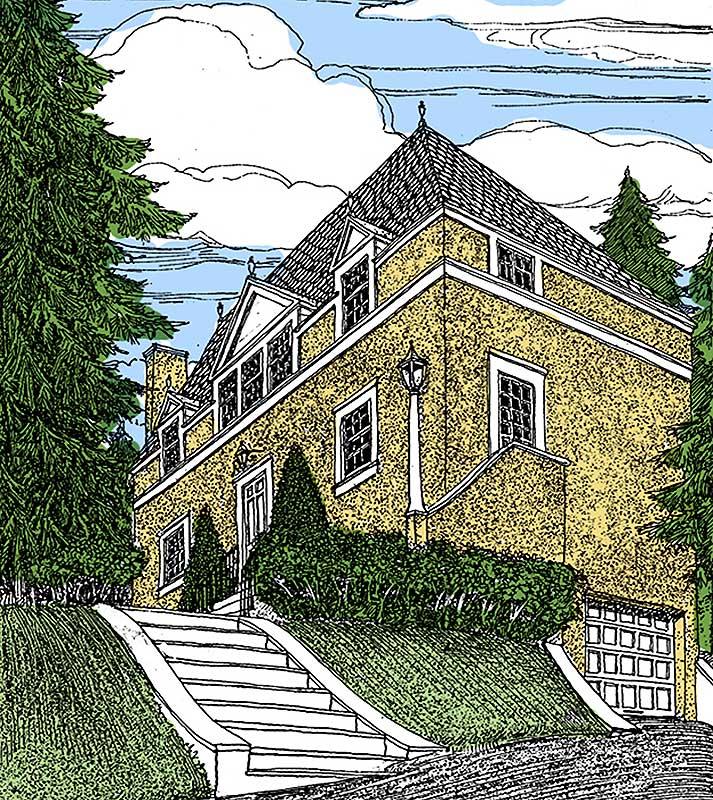 Georgian home plan 12800gc architectural designs for Georgian farmhouse plans