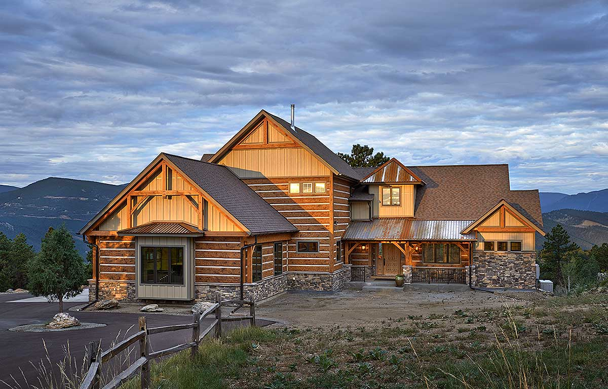 Dream mountain home plan 12933kn architectural designs for Mountain dream homes