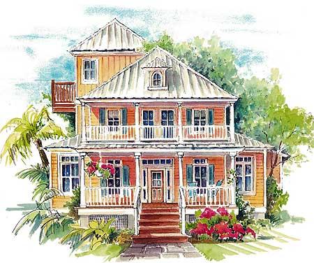 Seaside house plans