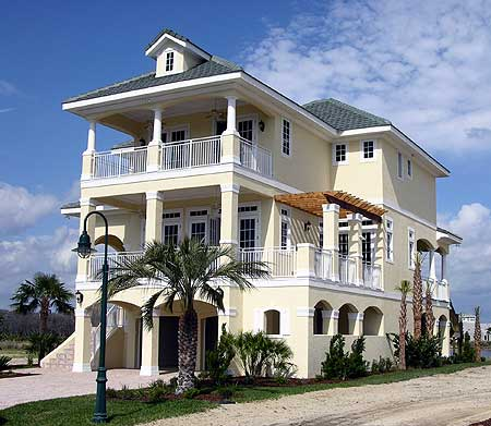 Coastal breeze 13023fl 2nd floor master suite beach for Coastal beach house plans