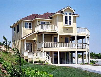 Narrow Lot Beach House Plan - 13038FL   Architectural Designs ...