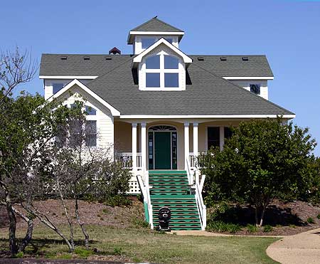 Raised beach cottage 13057fl 1st floor master suite for Beach house plans with garage underneath