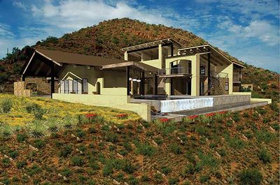 Contemporary Open Living Stunner - 13310WW thumb - 02