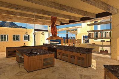 Contemporary Open Living Stunner - 13310WW thumb - 06