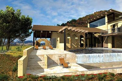 Contemporary Open Living Stunner - 13310WW thumb - 07