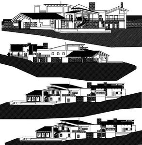 Contemporary Open Living Stunner - 13310WW thumb - 08