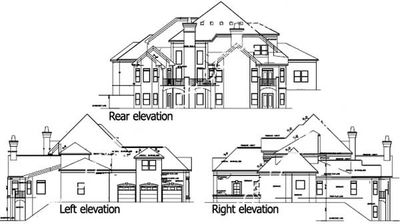 Luxury 5 Bedroom House Plan - 13438BY | Architectural Designs ...