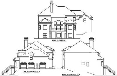 Exquisite Georgian House Plan 13455BY Architectural Designs