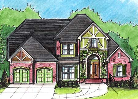 Grand impressions 13488by architectural designs for Impressions home designs