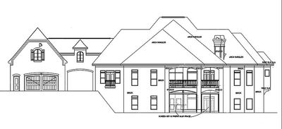 European House Plan with Porte-Cochere - 13498BY   Architectural ...