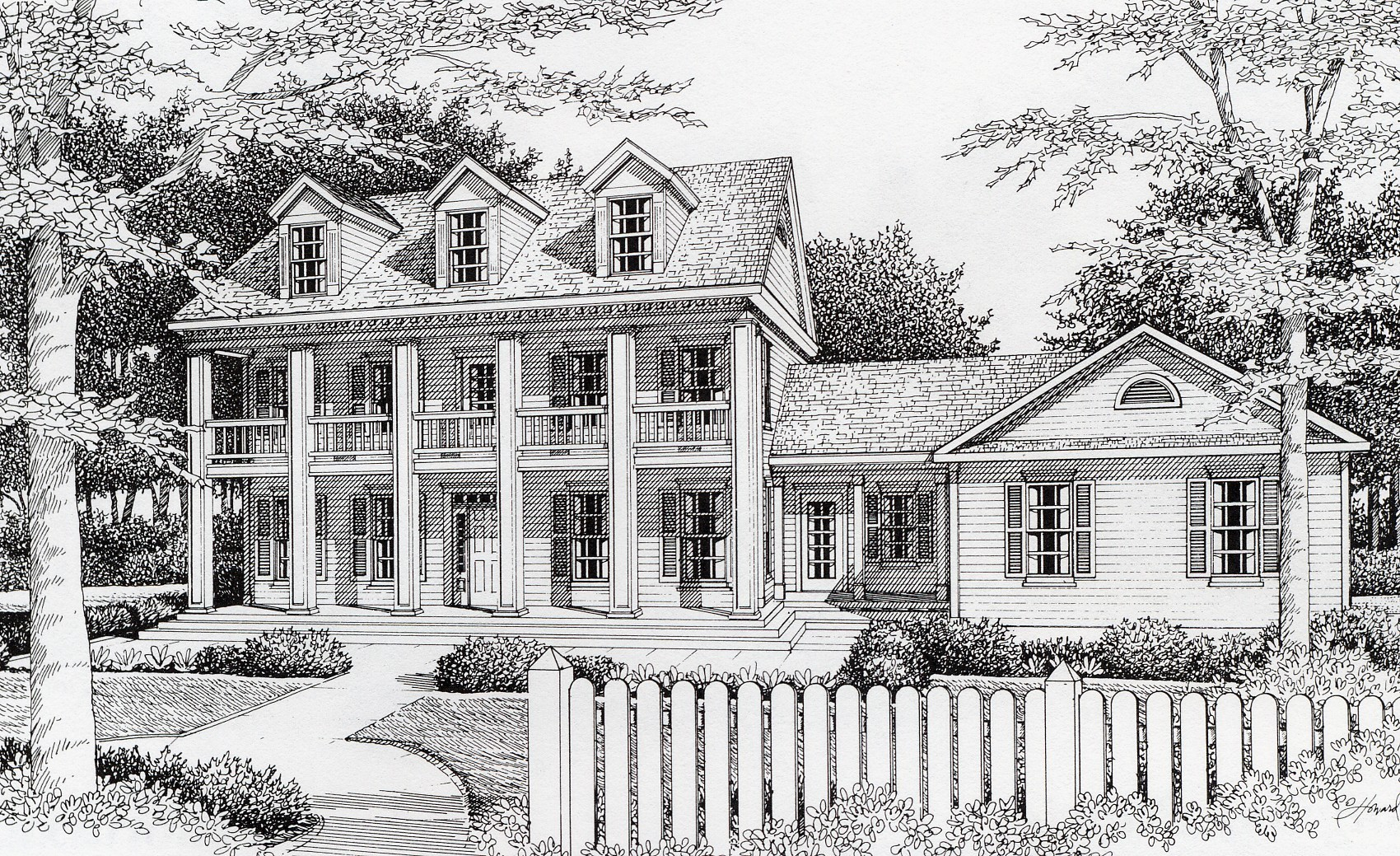 southern plantation floor plans southern plantation style 14020dt architectural designs house plans 8812