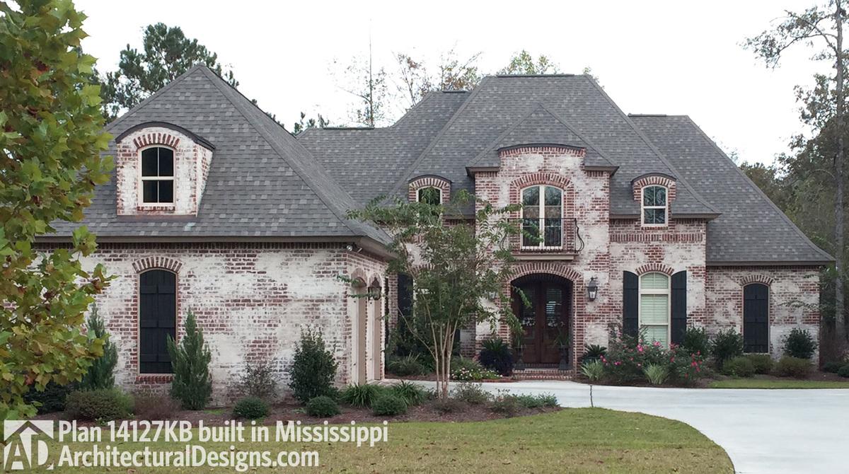 House plan 14127kb client built in mississippi for House plans mississippi