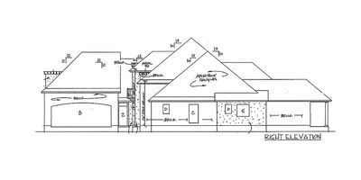 Graceful and Elegant 4 Bed Acadian House Plan - 14127KB thumb - 05