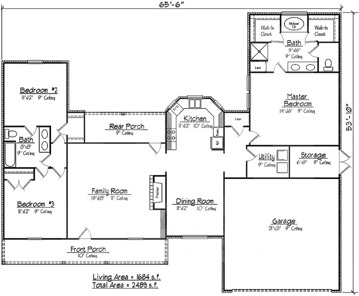 Southern louisiana acadian house plan 14159kb 1st for Southern louisiana house plans